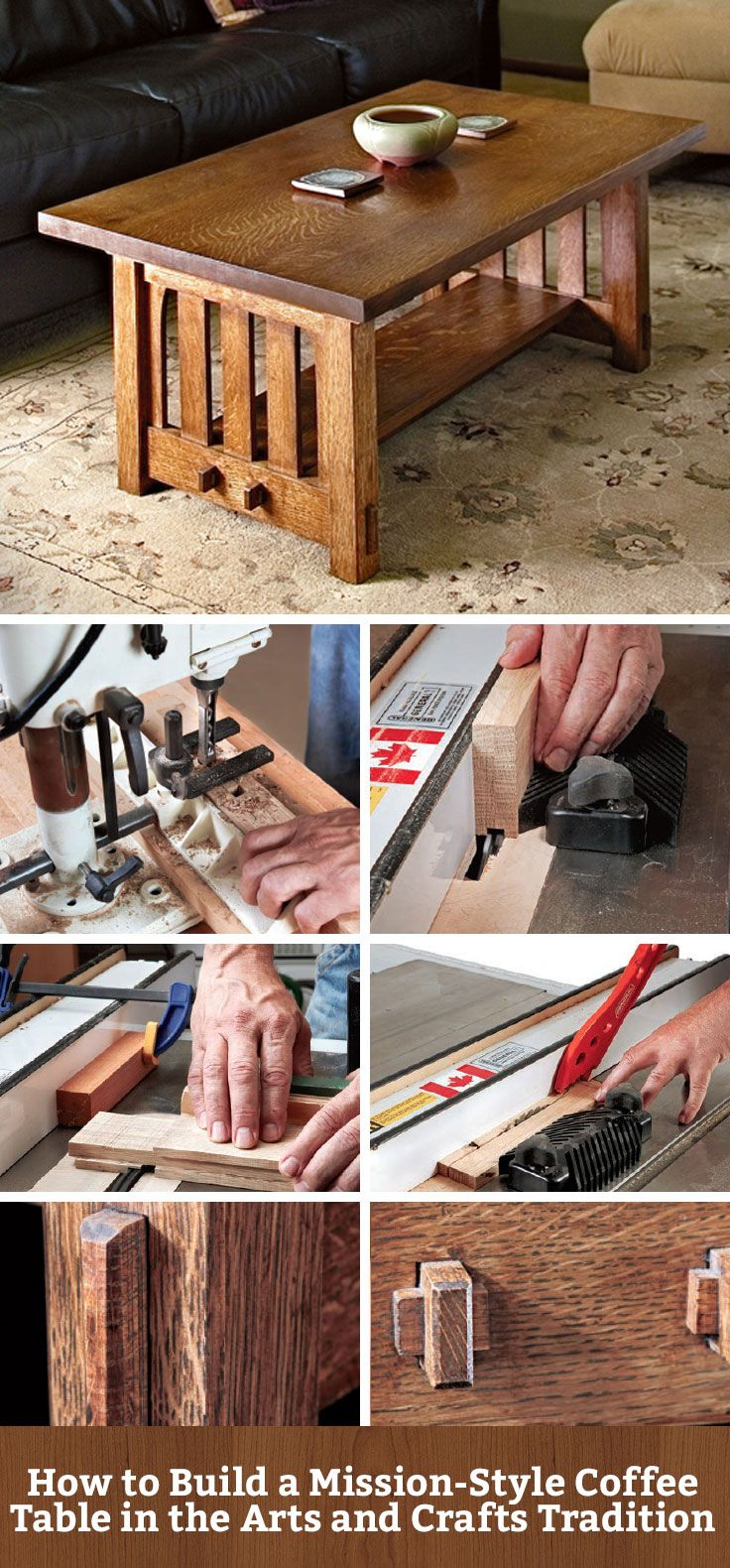 The through tenon is my favorite part