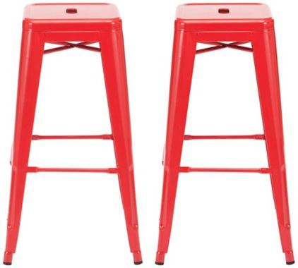 25 Best Ideas About Red Bar Stools On Pinterest Bar