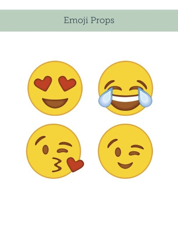 17 best images about emoji party on pinterest smiley faces emoji faces and photo booth props for Emoji printouts