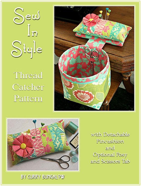 Hey, I found this really awesome Etsy listing at https://www.etsy.com/listing/150571365/sew-in-style-thread-catcher-sewing