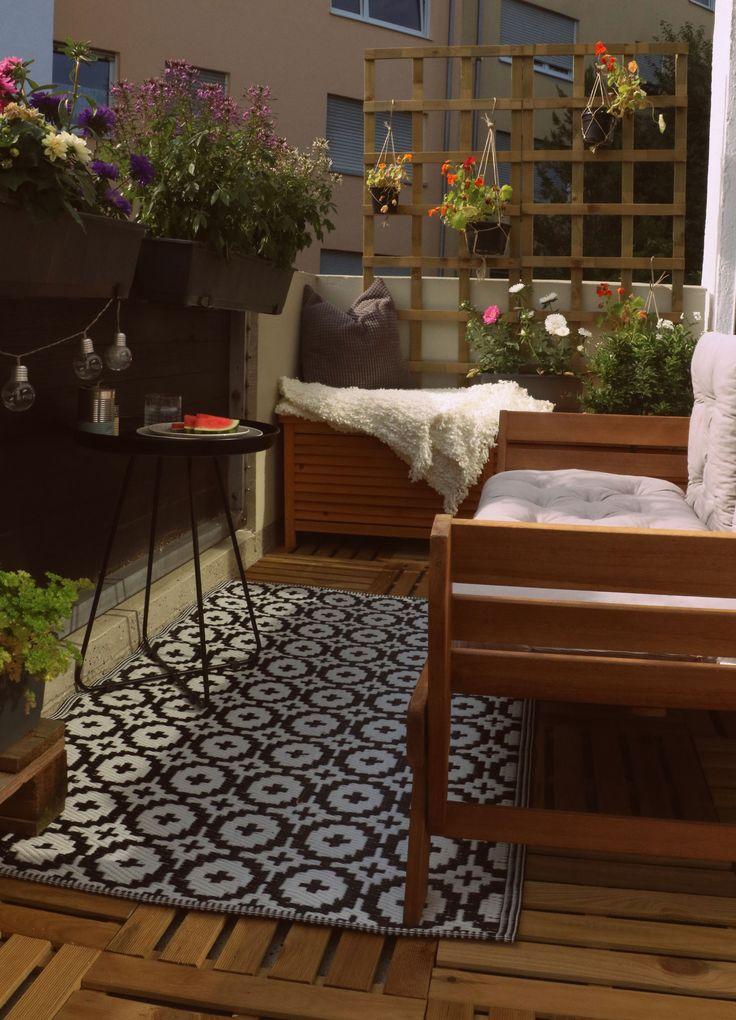 Projekt: Balkon verschönern