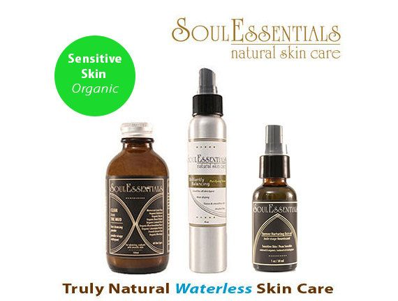 Organic Skincare for Sensitive Skin  by SoulEssentialsSkin on Etsy