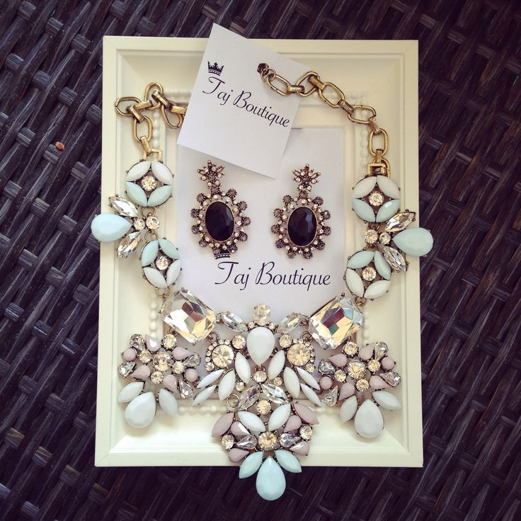Leave a little sparkle wherever you go!  #tajboutique #inspiration #necklace #jewelry