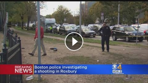 Boston Police Investigate Shooting In Roxbury: A man was shot near Boston Medical Center. WBZ-TV's Nick Giovanni reports.
