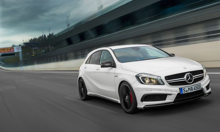 Mercedes-Benz A-Class. With the A 45 AMG, Mercedes-AMG launches into a new era. For the first time in the over 45-year history, the performance brand of Mercedes-Benz launches a fascinating high-performance car in the compact class. Fuel consumption combined: 7,1-6,9 l/100km, CO2 emissions combined: 165-161 g/km. #MBCars