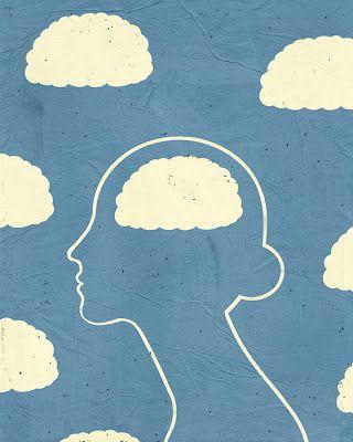 Guided Meditation, Illustration by SHOUT ::: www.dutchuncle.co.uk/shout-images