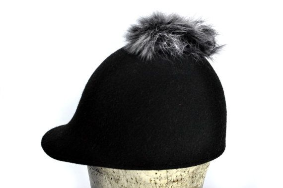 Sissy Riding Hat in Black by SOHODA on Etsy