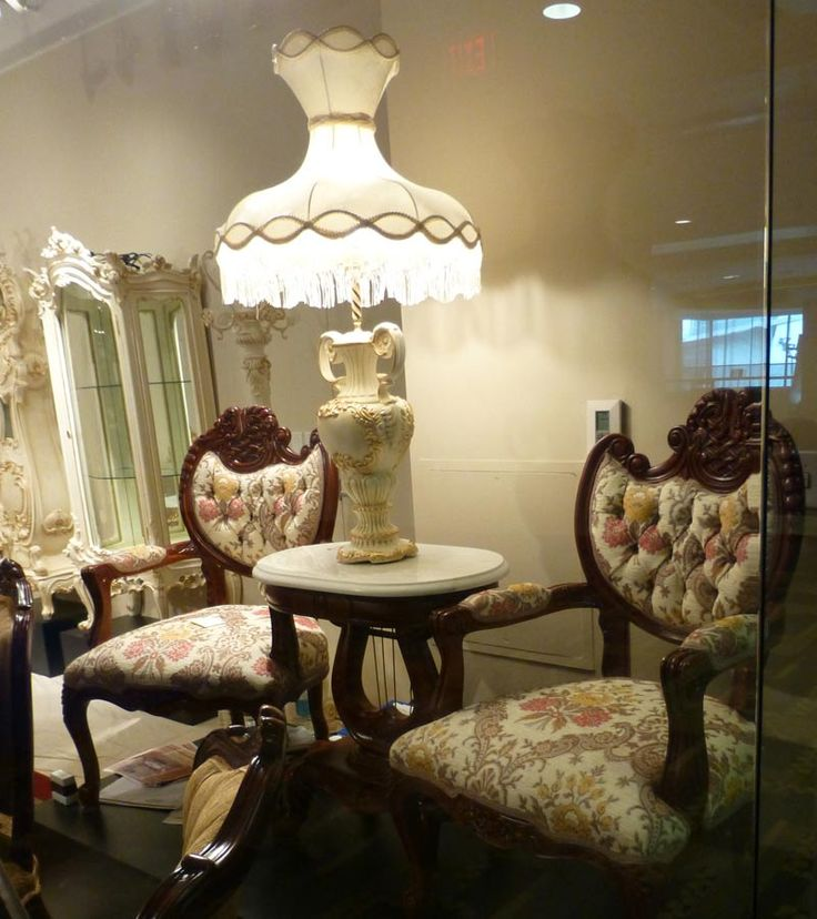 These Chairs Are Beautiful! Never Saw Anything Like This Before. I Think  Lamp And · Victorian Dining RoomsVictorian FurnitureVictorian ...