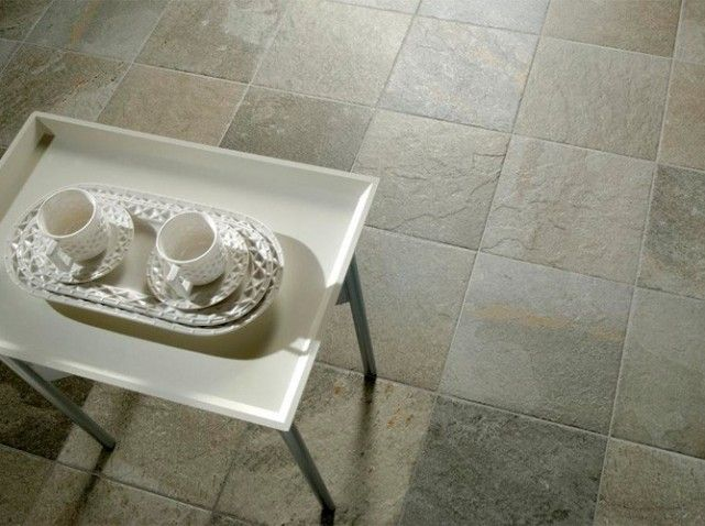 Carrelage style pierre for Croisillon carrelage