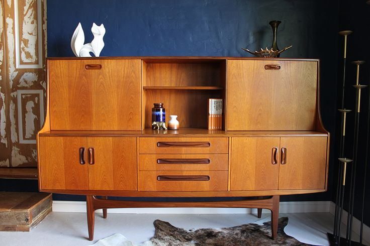 Teak and Afromosia mid-century sideboard by by G Plan