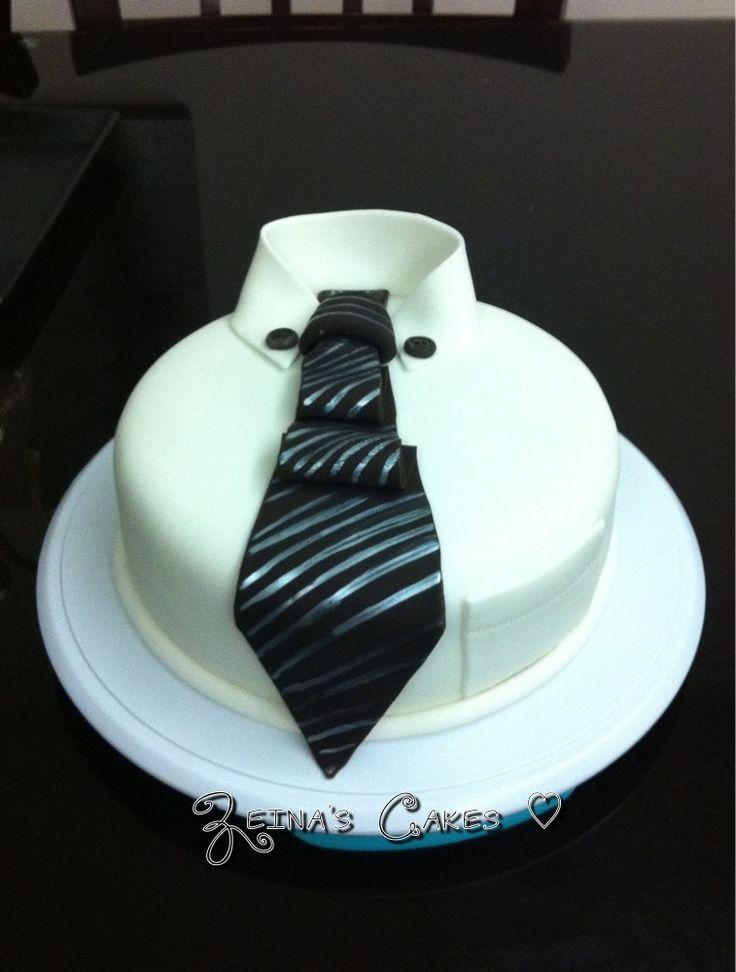 Cake Design Shirts : Black tie cake Cakes for men Pinterest Cakes, Black ...