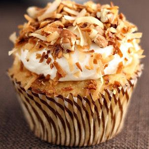 Italian Cream Cupcakes, I seen these on Cake Boss Bakery Helper (I think that's what it is called) last night.