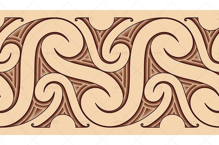 Maori tattoo pattern by Artefy's Graphic Bar on @creativemarket