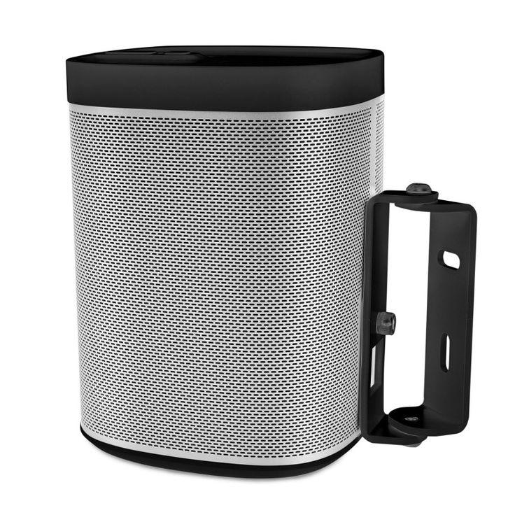 Wall bracket Sonos Play 1 black. $19 #wallmount #sonos #play1
