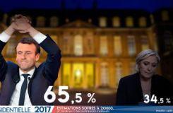 EN DIRECT - Résultats élection présidentielle : Emmanuel Macron élu avec 65,5% des voix