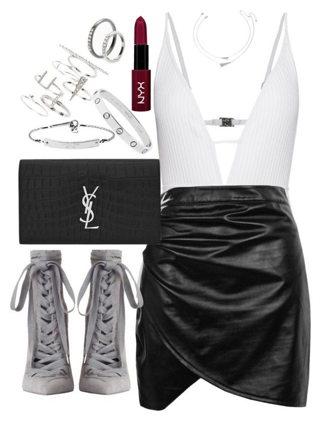 """Untitled #5280"" by angela379 ❤ liked on Polyvore featuring Zimmermann, Boohoo, Forever 21, Yves Saint Laurent, MICHAEL Michael Kors, Topshop and MANGO"