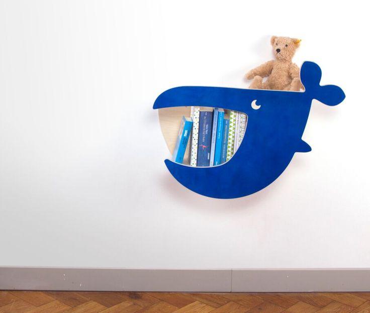 La balena Moby Dick si trasforma (arredamento innovativo per la cameretta)