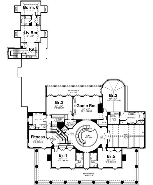 mansions in california 293 best home design blueprints images on 31477