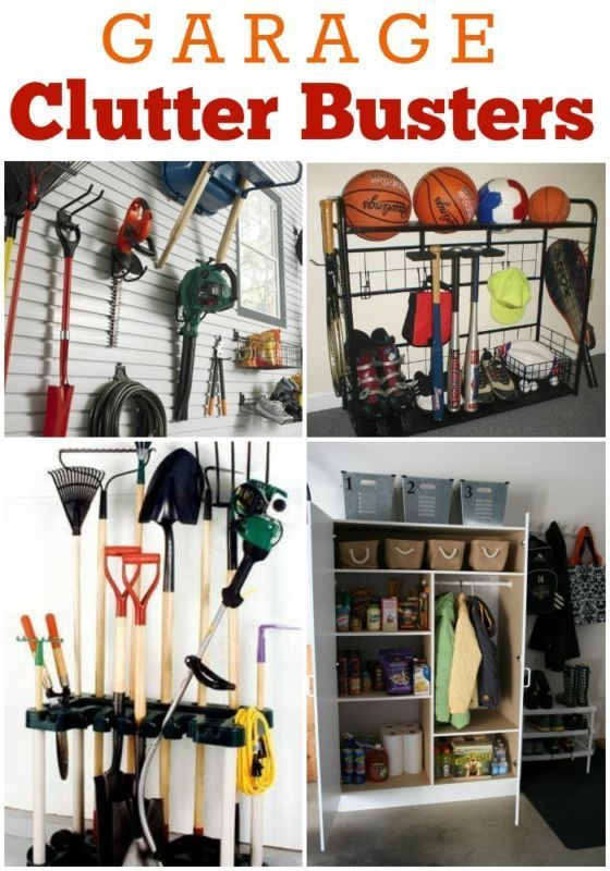 Organizing Your Garage Ideas Part - 34: Garage: Clutter Busting Storage Solutions