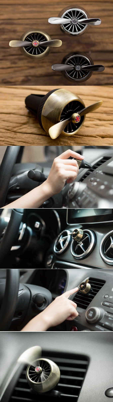 Turbo-Prop Engine Car Air Vent Air Freshener Perfume Diffuser