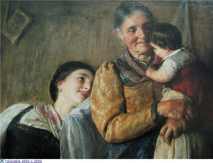Nikolaos Gyzis (1842-1901) Peek-a-Boo