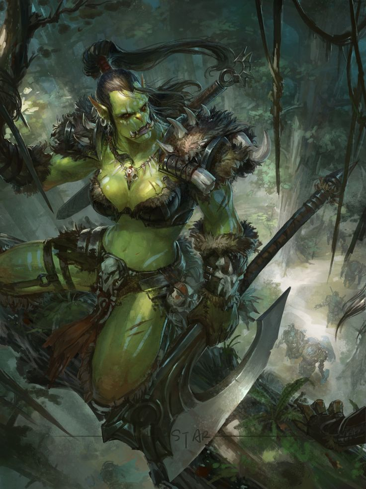 Warcraft female orc bitches