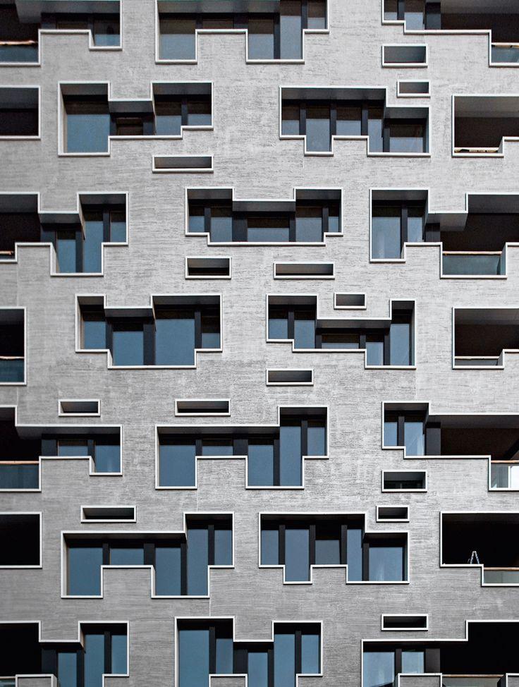 Exterior By Sagar Morkhade Vdraw Architecture 8793196382: Situado En El Barrio De Gundeldingen, En La Ciudad Suiza De Basilea, El Edificio…