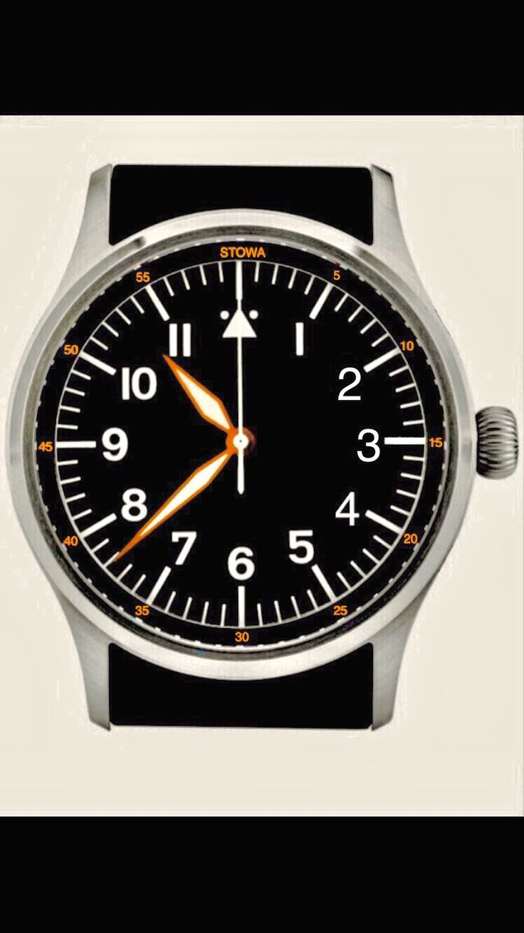 Stowa Flieger 43mm render