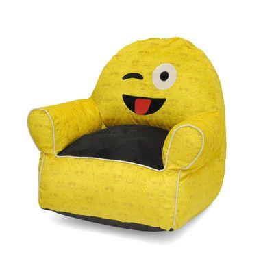 Bean Bag Chair Upholstery: Wink - http://delanico.com/bean-bag-chairs/bean-bag-chair-upholstery-wink-736265764/