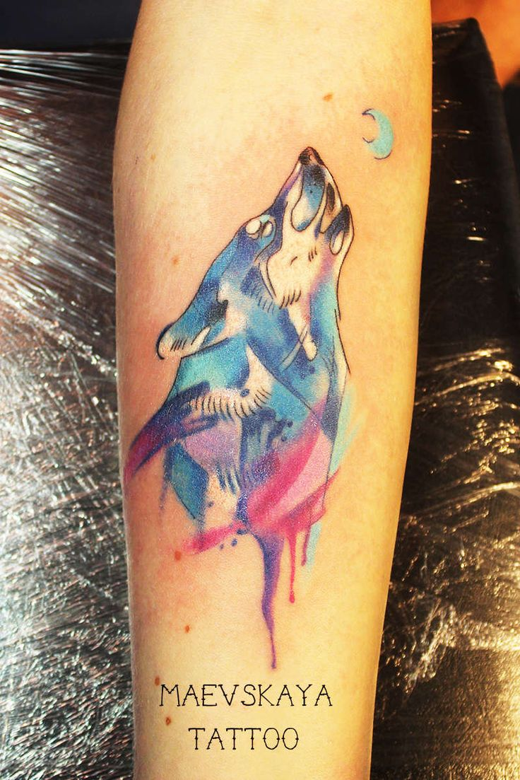 Алена #tattoo#тату#татуминск#tattoominsk#tattooink#татуировка#maevskayatattoo#волк