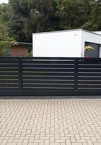 25 best ideas about zaunanlagen on pinterest horizontal. Black Bedroom Furniture Sets. Home Design Ideas