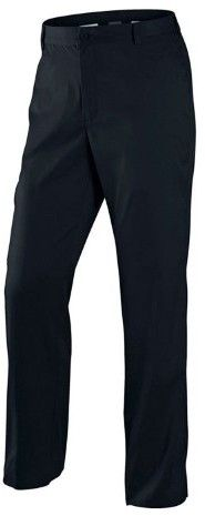Nike Men's Dri-Fit Flat Front Golf Pants-Black-40 X 32