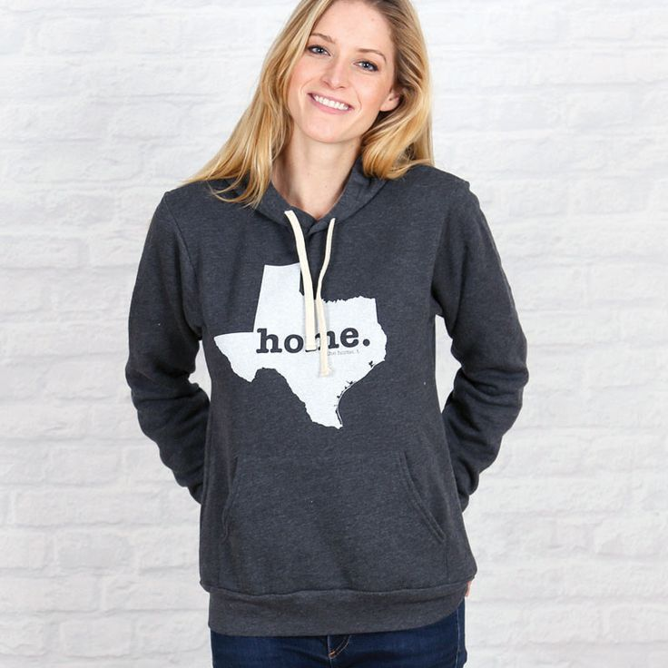 The Texas Home Hoodie will be one of the softest and most comfortable hoodies you've ever worn. A portion of profit is donated to multiple sclerosis research.