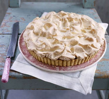 If you've only thought of meringue pie as the lemon kind, then think again. This version with toffee is spectacular