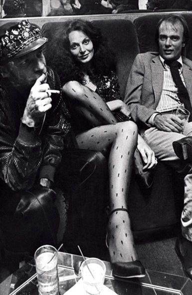 Diane Von Furstenberg and friends celebrating Egon Von Furstenberg's book, The Power Look, 1978. Photo: Ron Galella/WireImage