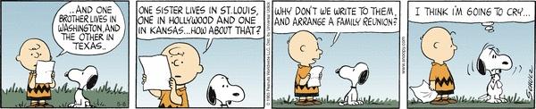 Snoopy - family reunion