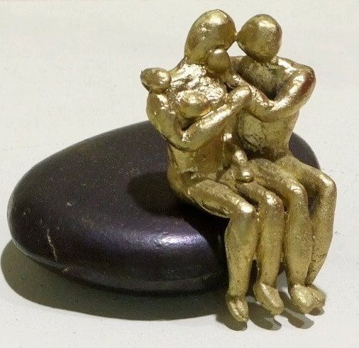 Small scale sculpture. Casted bronze. by ArchStudioGallery on Etsy