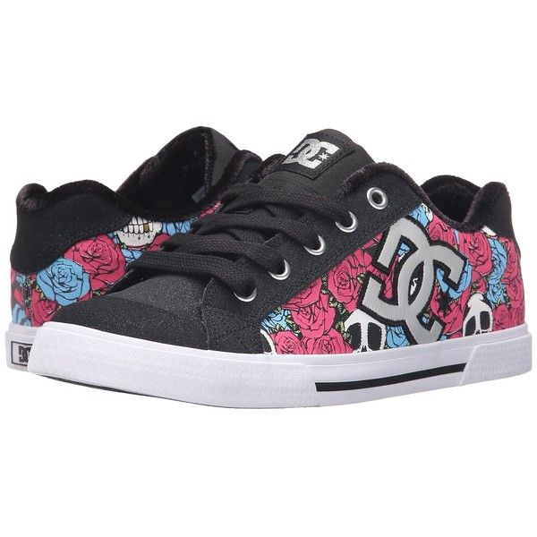 DC Chelsea X TR Women's Skate Shoes (885 ARS) ❤ liked on Polyvore featuring shoes, dc shoes footwear, dc shoes, print shoes, embroidered shoes and skate shoes