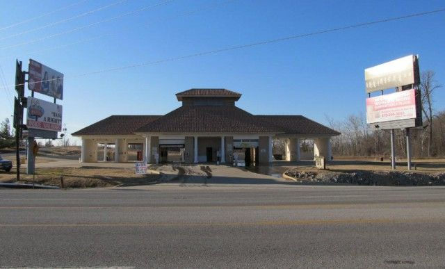 This car wash fronts on busy 4-lane Highway 62/412 and is located at an entrance Walmart. Extremely high traffic count! Several eating establishments across the street. The car wash sits on 2.05 acres with 2 automatic car wash bays and 4 manual car wash bays. What A Great Business Opportunity!! Call for complete details. Contact Jason 870-847-5846 for complete details in Ash Flat AR