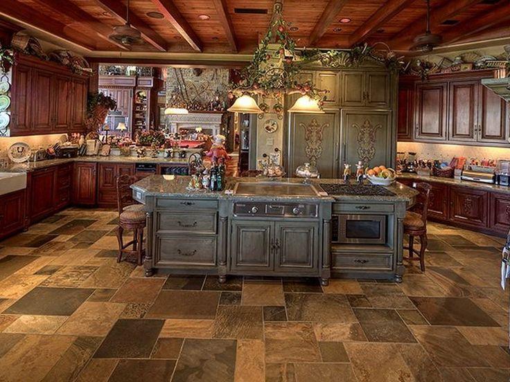 Tuscan Kitchen Decor Idea