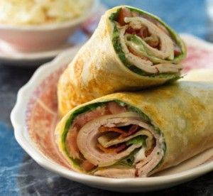 Recipe for the wrap....not the filling...the wrap! Coconut flour, egg white and flax seed meal.