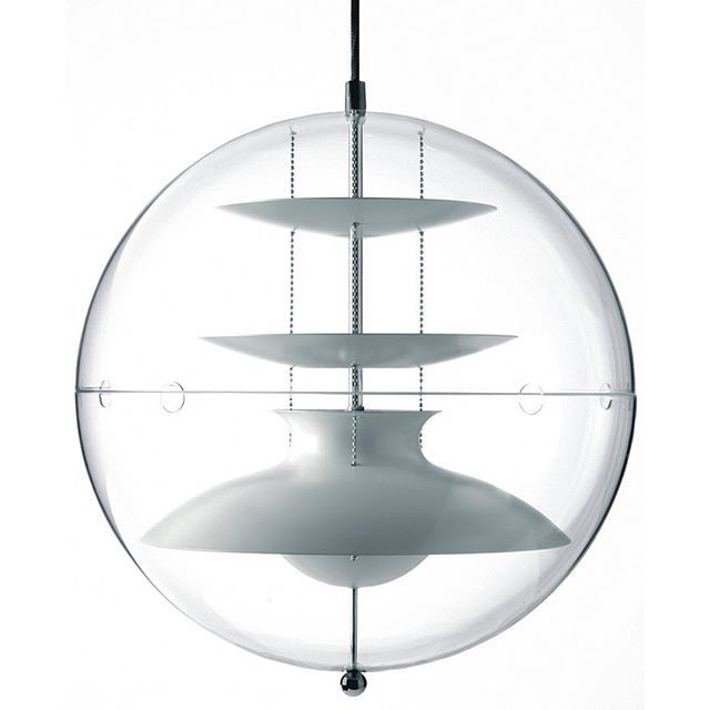 Created 7 years after his #iconic #VPGlobe, the #Panto #pendant #light continues #VernerPanton's exploration of the #spaceage into the late seventies.  Whilst a work worthy of attention, the Panto was introduced at a time when Panton's work was beginning to move out of vogue.  Today the Panto is getting the recognition it deserves as a #timeless piece of #futuristic #design, worthy of a Stanley Kubrick space epic #interior.  Much like many of the greats in the #art and design fields…