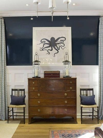 Fieldstone Hill Design » Blog Archive » Pin-spiration :: Lacquered Walls.