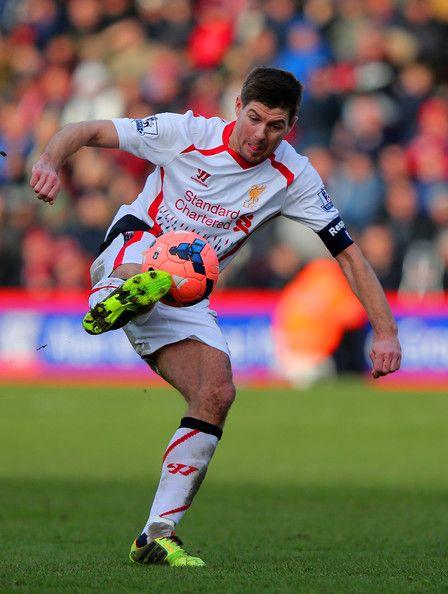 Steven Gerrard - Bournemouth v Liverpool - FA Cup Fourth Round