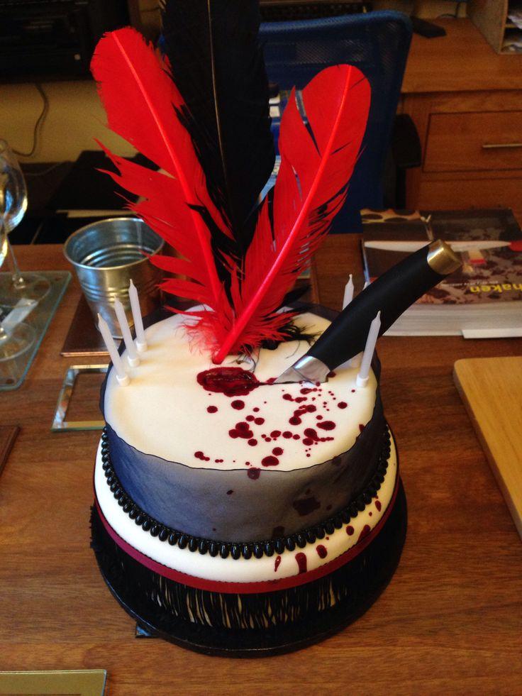 Murder mystery 1920s cake.