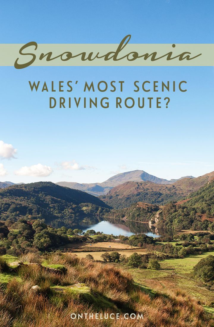 On the road in Snowdonia National Park in North Wales, through clear lakes, mountain peaks and thick forests – could this be Wales' most scenic drive?: