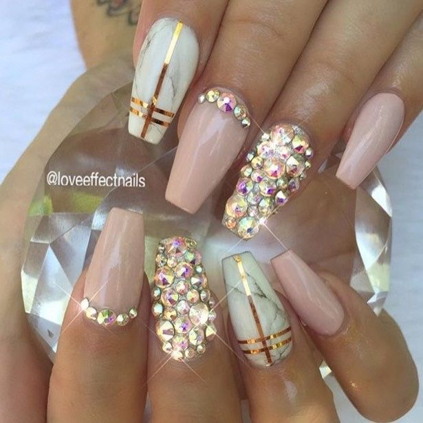 Best 25 crazy nail art ideas on pinterest nail art fun nails 62 classy swarovski nail art ideas to try out on your nails prinsesfo Choice Image
