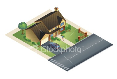 stock-illustration-6037198-suburban-house.jpg (380×258)