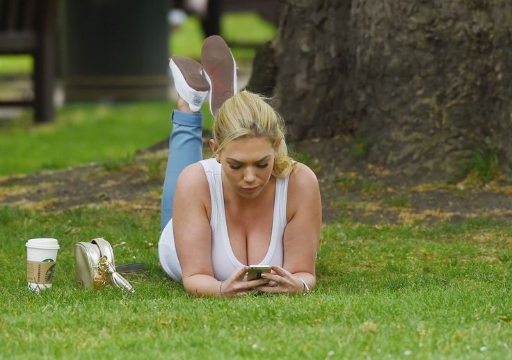FRANKE ESSEX at a Park in London 05/27/2015