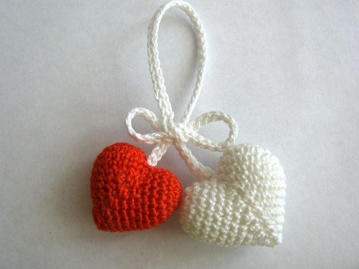 Мастер класс по вязанию крючком валентинки в стиле амигуруми – «Сердечки». | Блог Светланы Смолянкиной